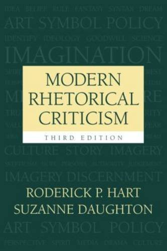 Modern Rhetorical Criticism