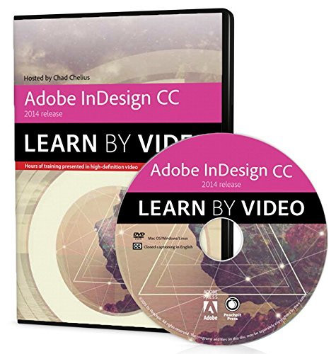 Adobe Indesign Cc Learn By Video