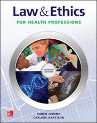 Law And Ethics For Health Professions
