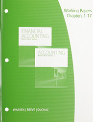 Working Papers Chapters 1-17 For Financial Accounting