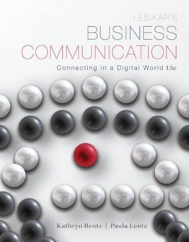Lesikar's Business Communication