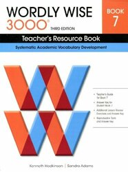 Wordly Wise 3000 Teacher'S Resource Book Book 7