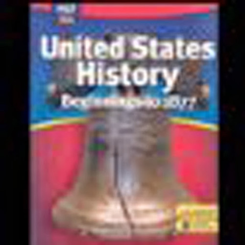 Solutions to United States History: Beginnings to 1877 ...