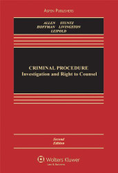Criminal Procedure Investigation and the Right to Counsel