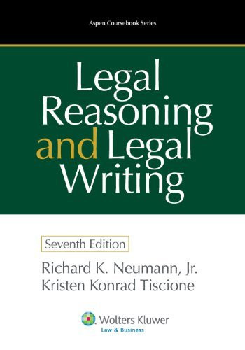Legal Reasoning And Legal Writing