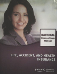 Life Accident And Health Insurance National License Exam Manual
