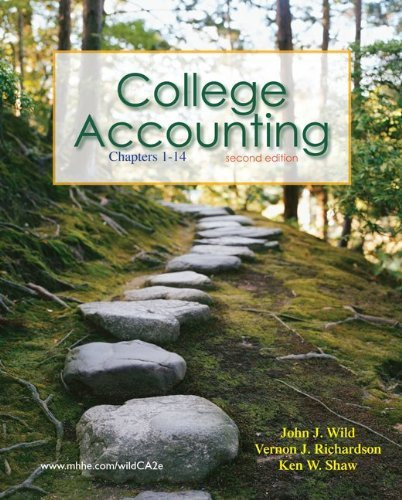 College Accounting Chapters 1-14
