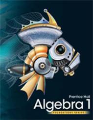 High School Math 2011 Algebra 1 Foundations