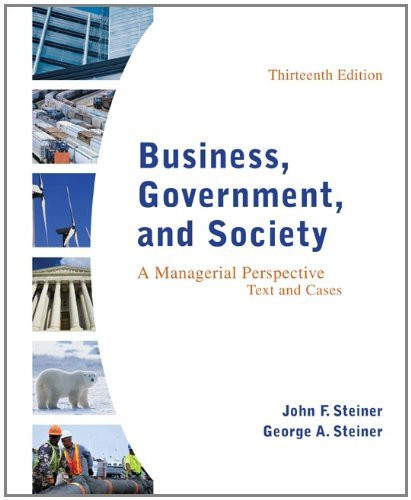 Business Government And Society