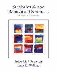 Statistics For The Behavioral Sciences