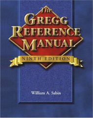 The Gregg Reference Manual - William Sabin