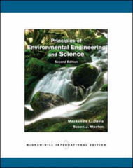 Principles Of Environmental Engineering And Science By Mackenzie L Davis And