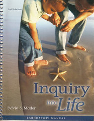 Inquiry Into Life Laboratory Manual