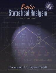Basic Statistical Analysis