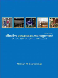 Entrepreneurship and Effective Small Business Management