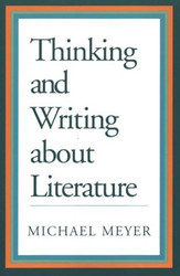 Thinking And Writing About Literature