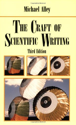 Craft Of Scientific Writing