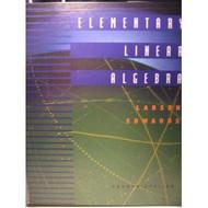 Elementary Linear Algebra - Ron Larson