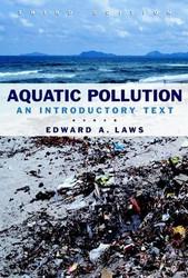 Aquatic Pollution by Edward A Laws