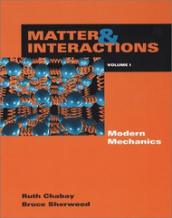 Matter And Interactions Volume 1