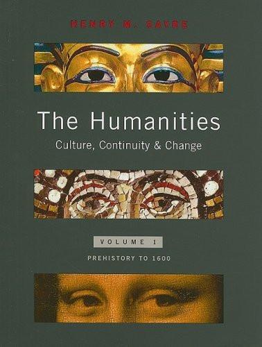 Humanities Volume 1