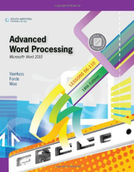 Advanced Word Processing Lessons 56-110 - Susie H Vanhuss