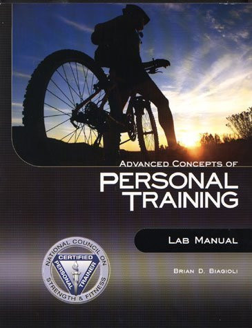 Advanced Concepts Of Personal Training Lab Manual