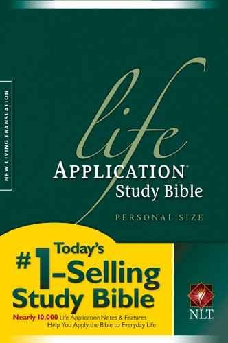Life Application Study Bible Nlt Personal Size