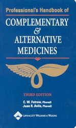 Professional's Handbook Of Complementary And Alternative Medicines
