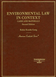 Environmental Law In Context