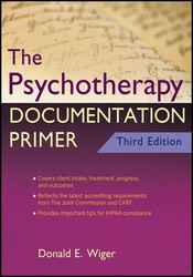 Psychotherapy Documentation Primer
