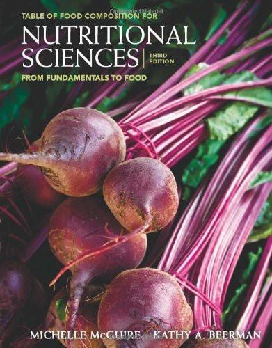 Nutritional Sciences