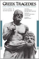 Greek Tragedies Volume 1