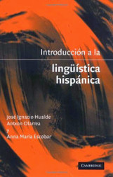 Introduccion A La Linguística Hispanica