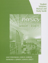 Student Solutions Manual For Serway/Jewett's Physics For Scientists And