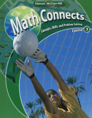 Math Connects Concepts Skills And Problem Solving Course 3