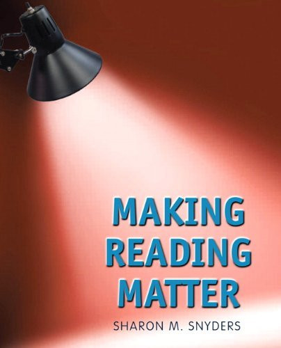 Making Reading Matter