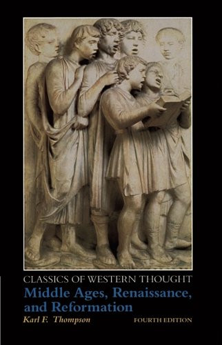 Classics Of Western Thought Series Volume 2