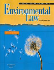 Black Letter Outline on Environmental Law