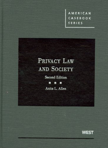 Privacy Law and Society