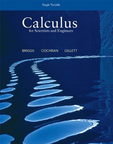 Calculus For Scientists And Engineers Single Variable