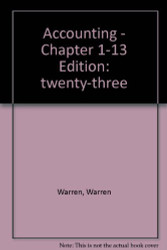 Accounting Chapters 1 - 13
