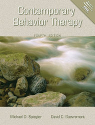 Contemporary Behavior Therapy by Michael D Spiegler