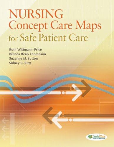 Nursing Concept Care Maps For Safe Patient Care