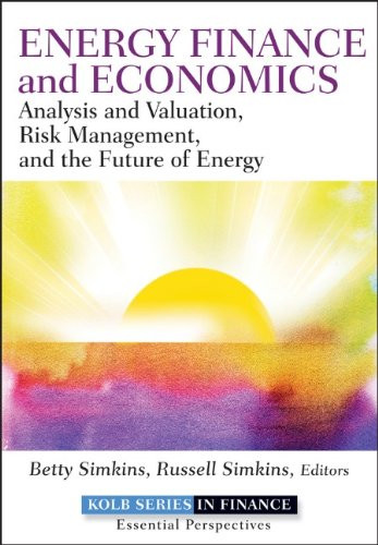 Energy Finance And Economics