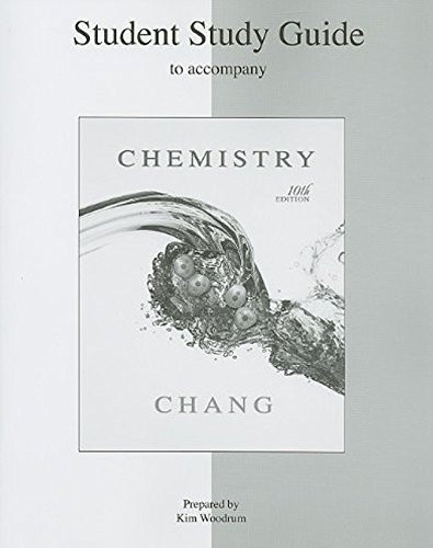Student Study Guide For Chemistry