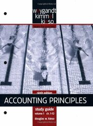 Accounting Principles Study Guide Chapters 1-12 Volume 1