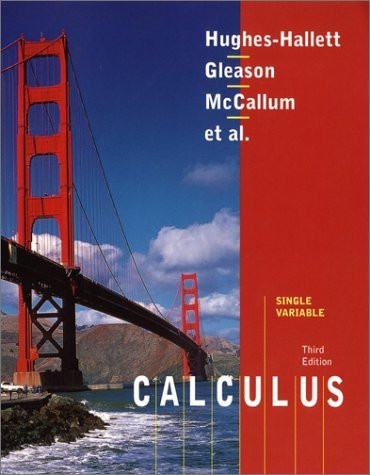 Calculus Single Variable