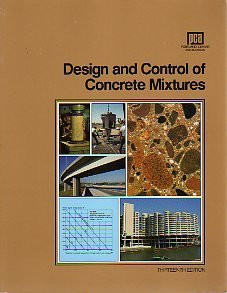 Design And Control Of Concrete Mixtures