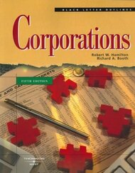 Black Letter Outline On Corporations